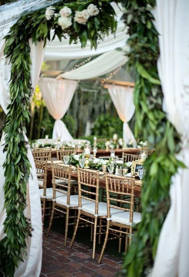 wedding photo - 21 Pretty Garden Wedding Ideas For 2016