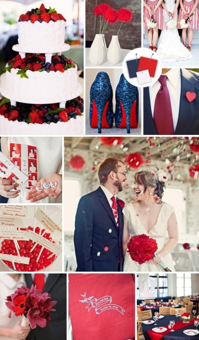 свадьба в белом красном синем цвете Беременность Если вас