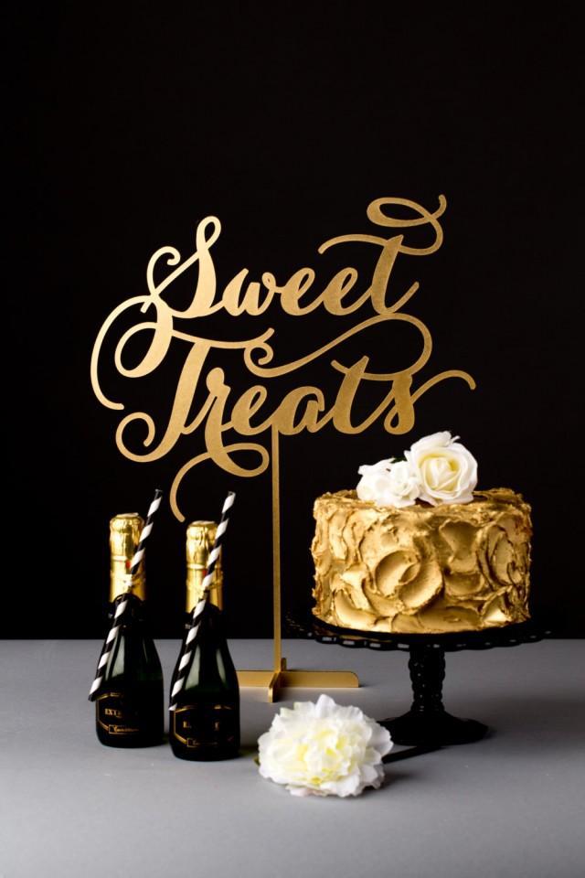 Wedding Dessert Table Sign Sweet Treats Soir 233 E