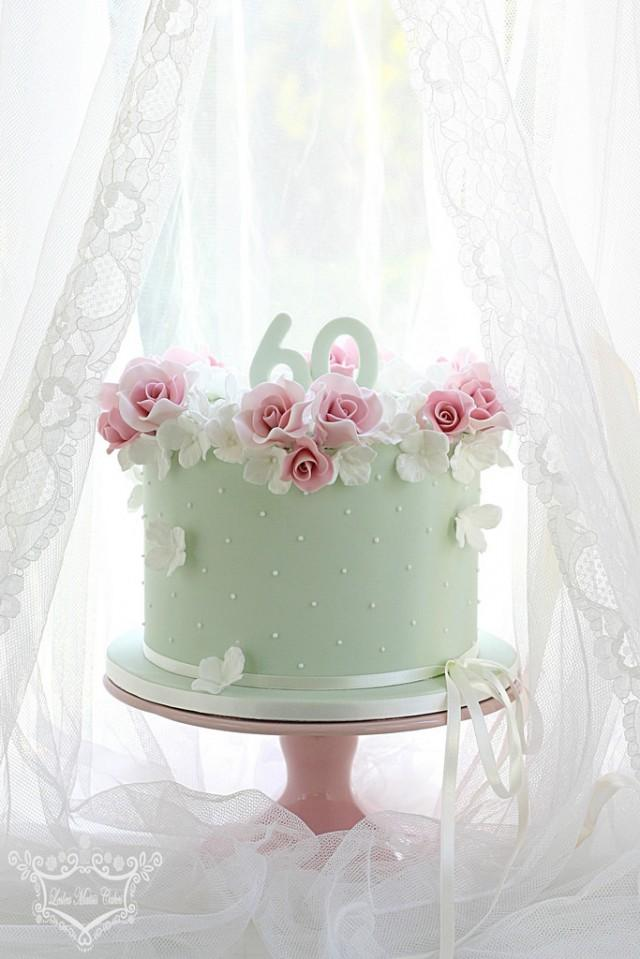Cake 60th Birthday Cake 2484903 Weddbook