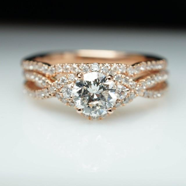 Tacori Engagement Rings and Settings in Rose Gold