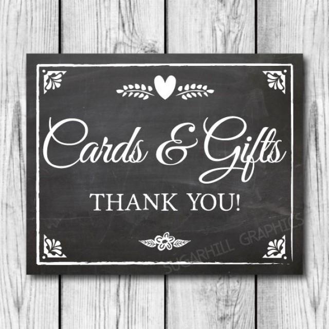 Chalkboard Wedding Sign Printable Wedding Sign