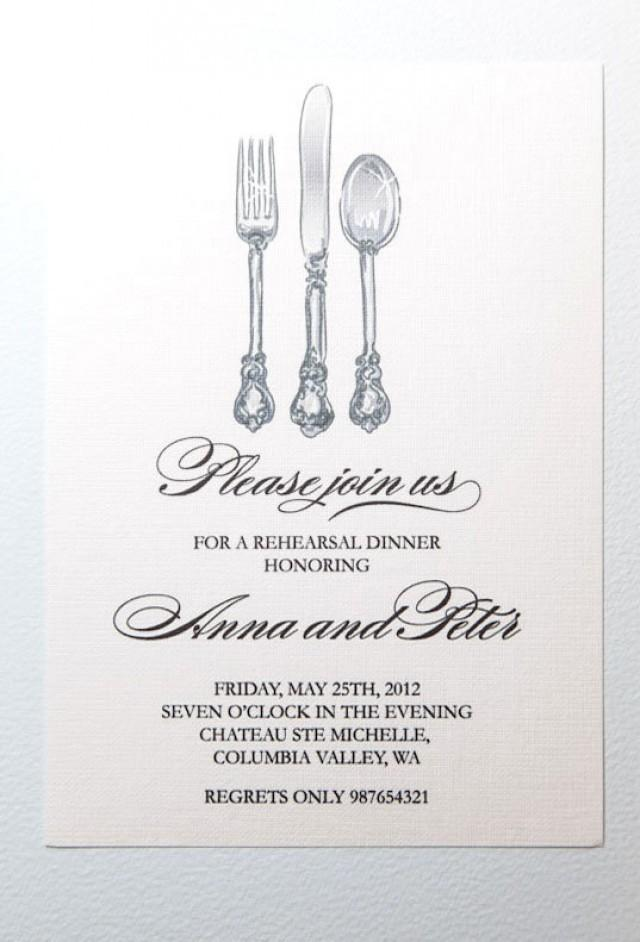 image relating to Free Printable Rehearsal Dinner Invitations known as Invitation - Printable Rehearsal Meal Invitation #2488717