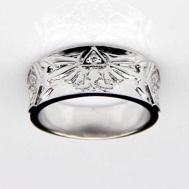 Legend Of Zelda Engagement Wedding Commitment Promise Ring