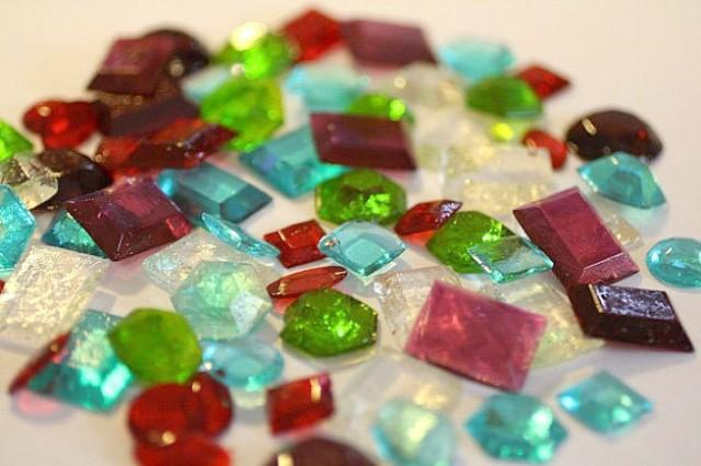 Cake Images With Gems : 50 Sugar Jewels, Sugar Gems For Cake Decorating, Assorted ...