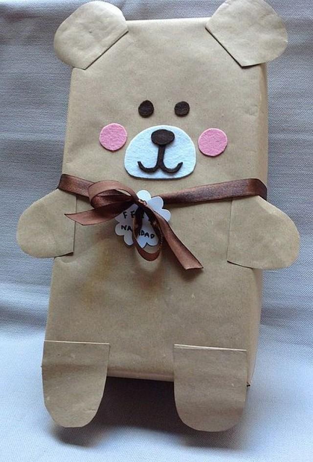 Упаковка подарка для ребенка