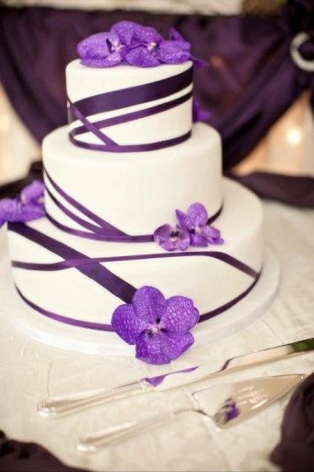 Wedding Theme - Lovely Purple Cake. #2491898 - Weddbook