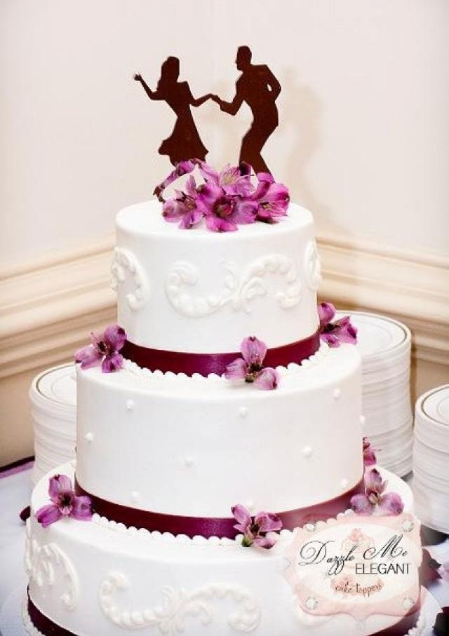 swing dancing cake topper - dance cake topper - wedding cake topper