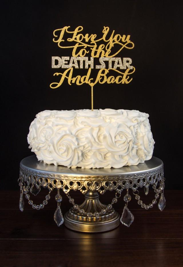 Wedding Cake Topper I Love You I Know