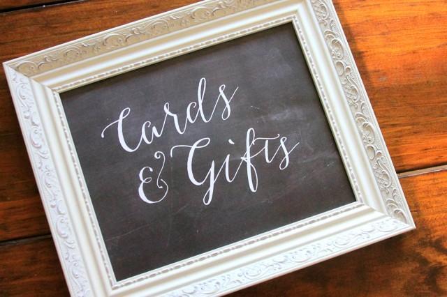Wedding Gift Table Sign :