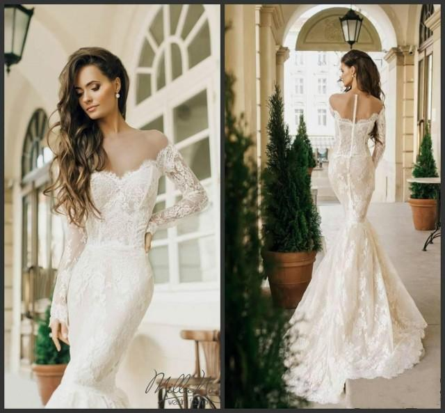 Mermaid Style Lace Wedding Gowns: Sexy Milla Nova 2016 Mermaid Wedding Dresses Lace Styles
