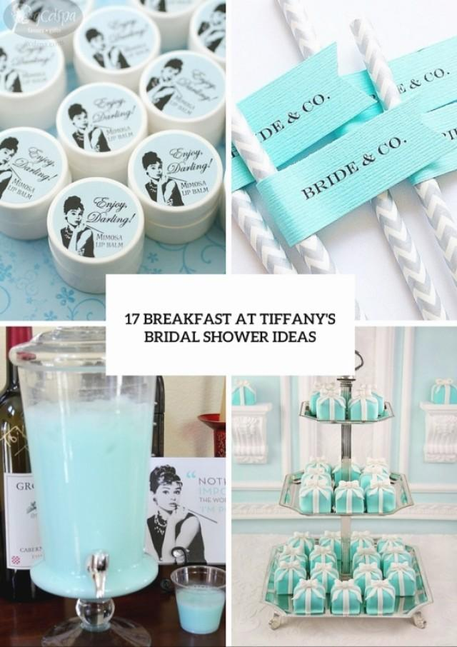 17 Breakfast At Tiffany S Themed Bridal Shower Ideas