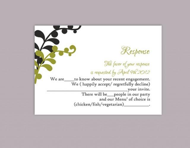 response cards template