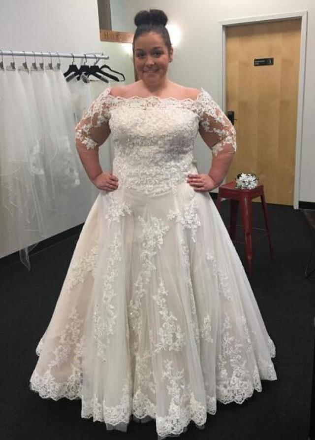 Discounted plus size wedding dresses wedding dresses in jax for Wedding dresses sale online
