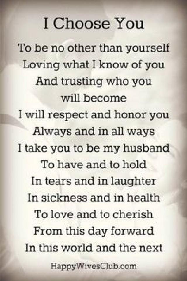 Romantic Wedding Vows Examples For Her And For Him 2500201 Weddbook