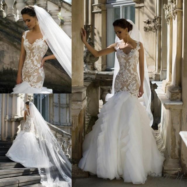 New designer milla nova wedding dresses 2016 tulle sexy for Sexy designer wedding dresses