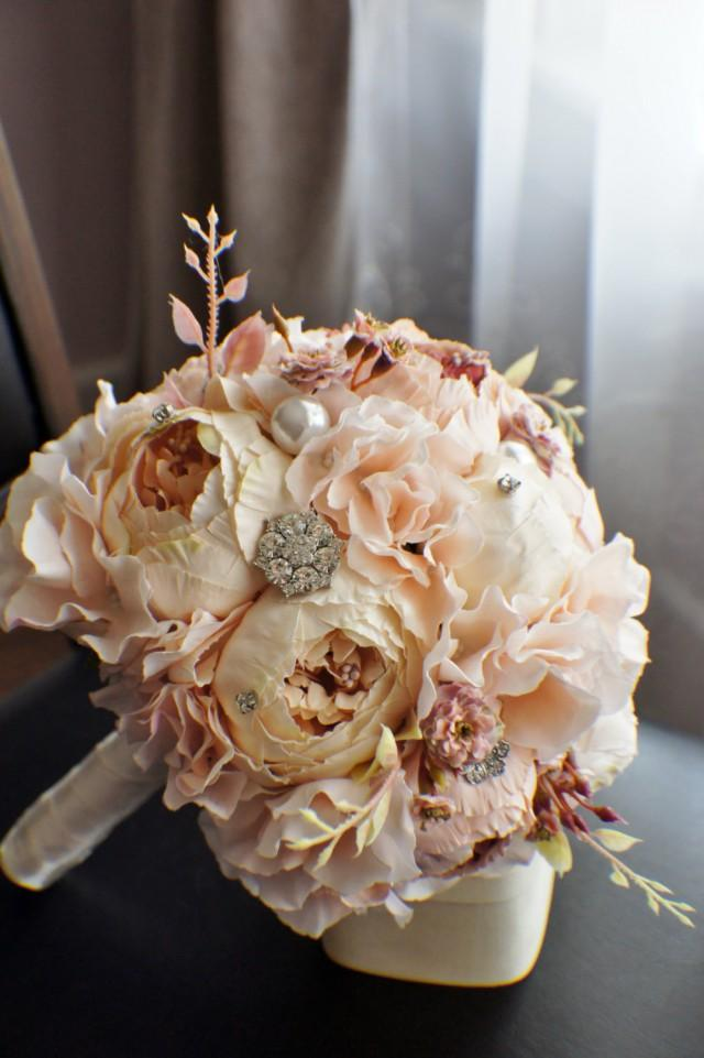 Diy Bridal Bouquet Real Flowers