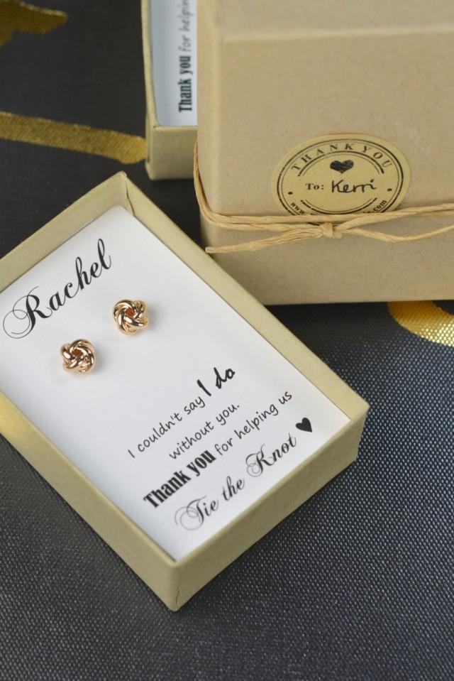 Earrings,Bridesmaid Gift,Bridesmaid Jewelry,Jewelry Gift Box ...
