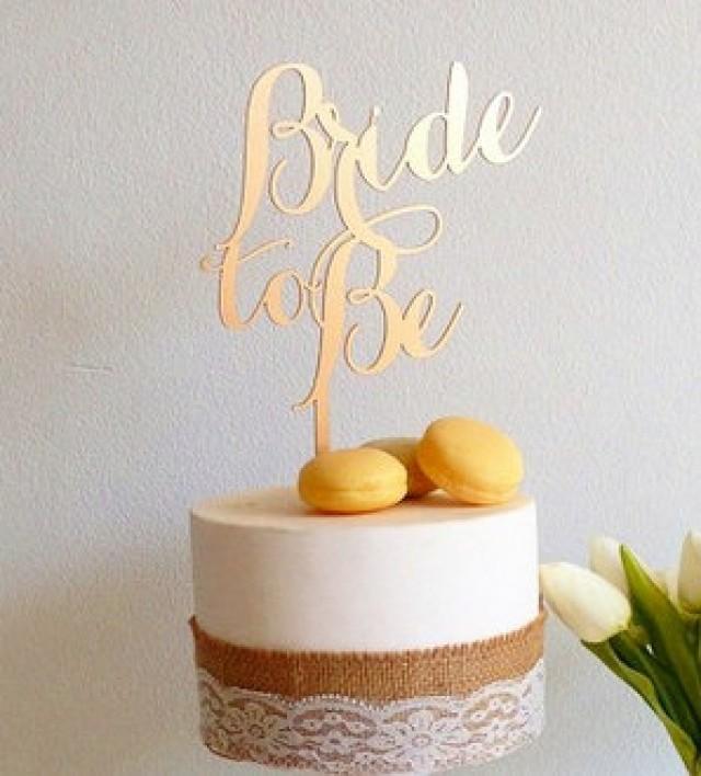 Custom Cake Topper, Bride To Be, Graduation Cake ...