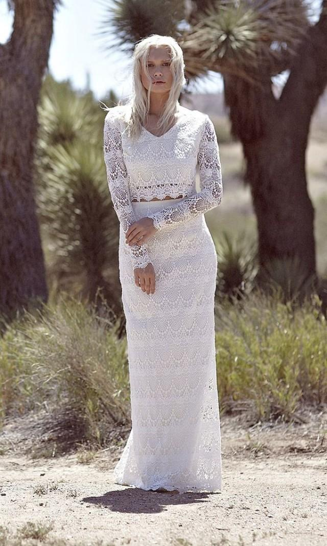 Lace Bridal Gown Strapless Lace Dress Off The Shoulder