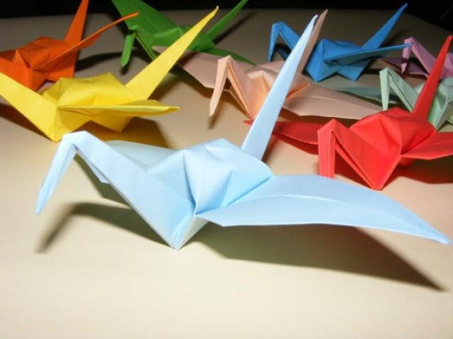 wedding photo - Origami Crane, Set of 1000 Wedding Crane, Origami Crane, Handmade Crane, Wedding Decoration Origami Crane, Origami Wedding, paper crane
