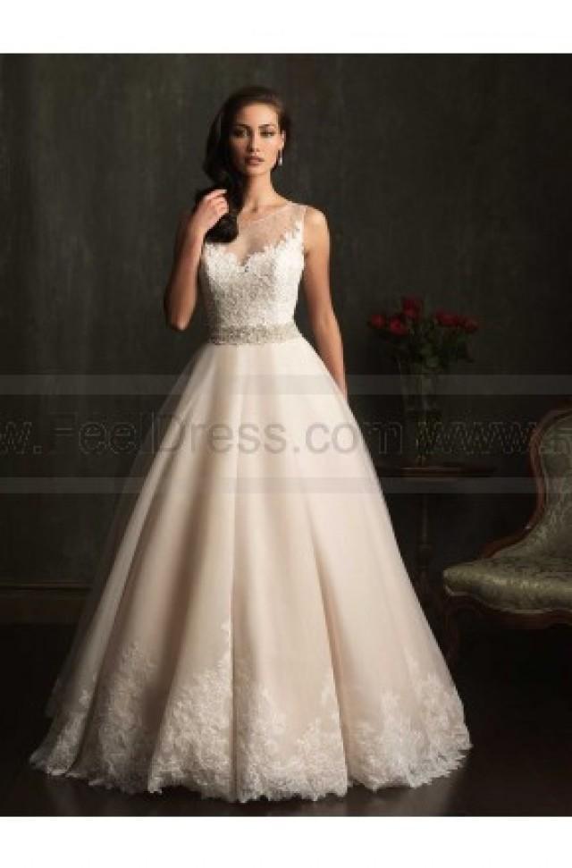 Allure wedding dresses style 9073 2507419 weddbook for Cheap allure wedding dresses