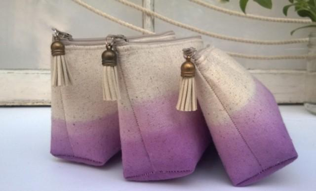 Set Of 6 One Free Boho Bridesmaid Gifts Cotton Clutch Personalized Bridesmaids Sets Cheap