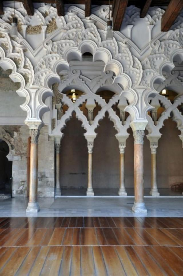 wedding photo - The Aljafería Palace - Zaragoza, Spain