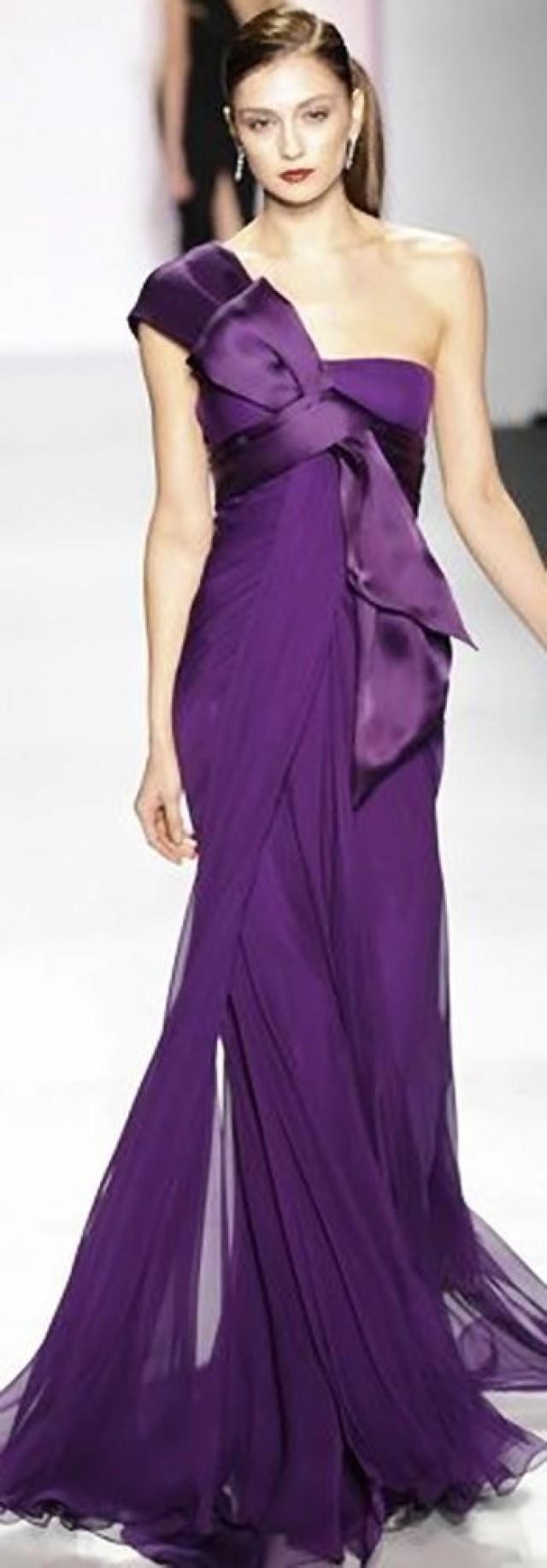 wedding photo - Stunning Purple Dress