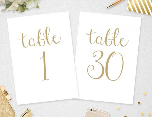 Gutsy image for free printable table numbers 1 30