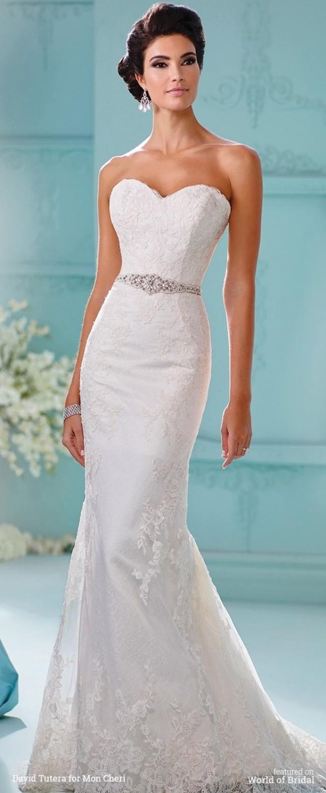 David Tutera For Mon Cheri Fall 2016 Wedding Dresses