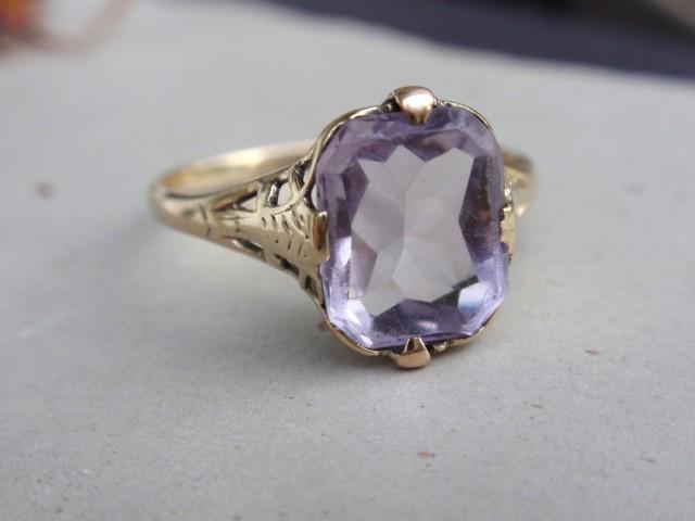Ostby Barton Amethyst Ring
