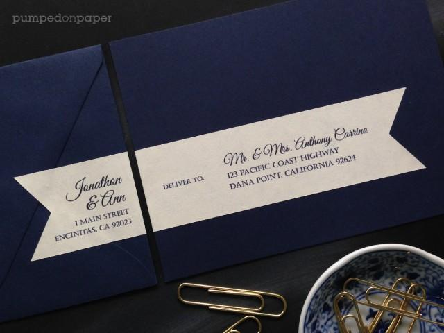 Wedding Invitation Mailing Labels: Personalized Mailing Address Labels For Wedding