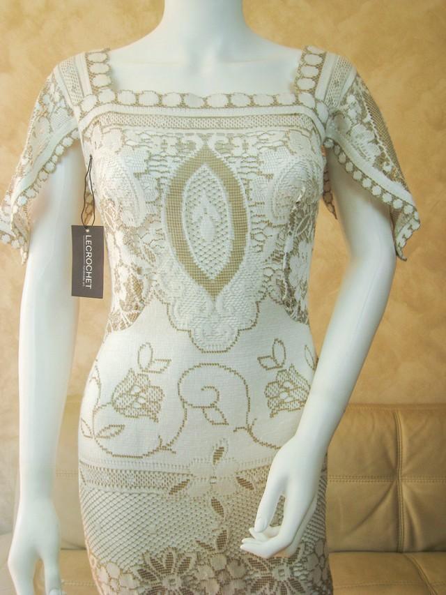Boho Wedding Dress Nottingham : Retro lace wedding dress bridal from original