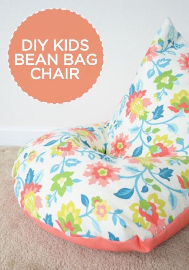 Diy Sew A Kids Bean Bag Chair In 30 Minutes 2516797