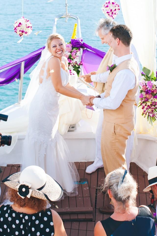 wedding photo - Yacht Wedding