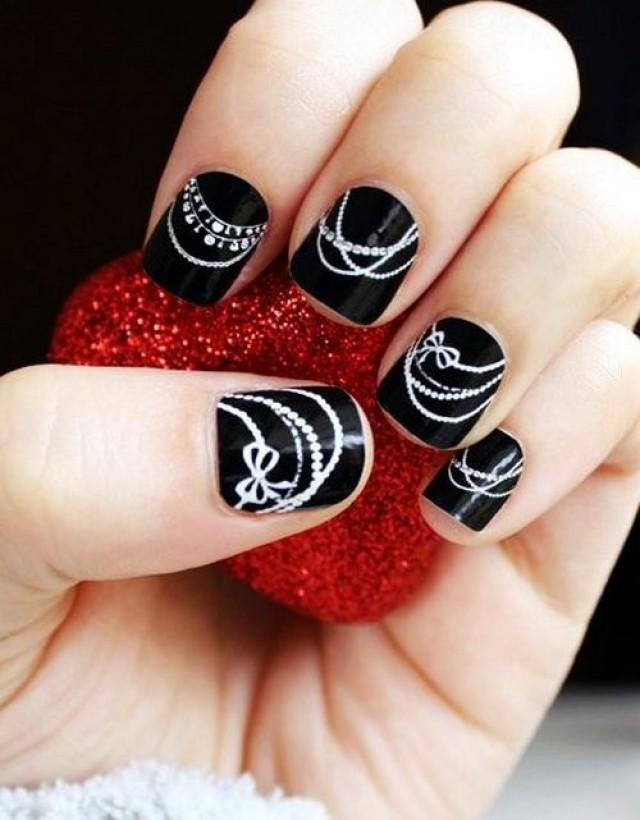 Beautiful nail art for short nails