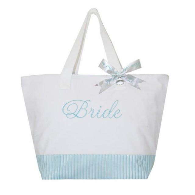 Bride Tote Bag, Bridal Embroidered Tote Bag, Bride Carry All, Mrs ...