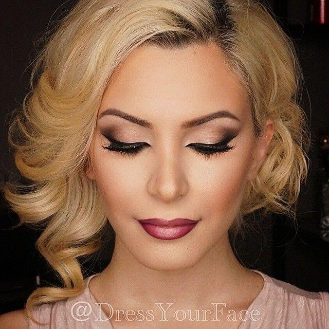 Date night makeup