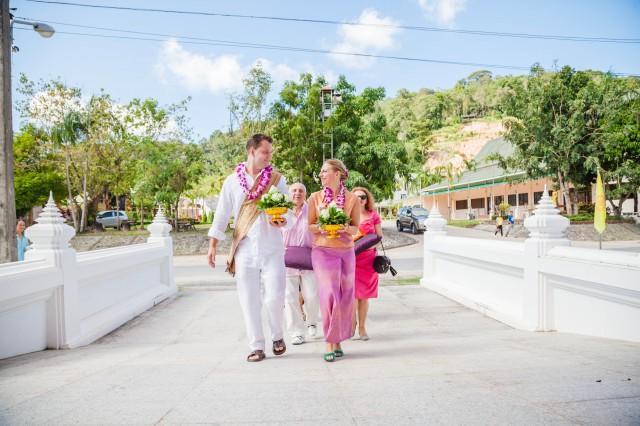 wedding photo - Thai Buddhist Wedding Blessing Ceremony