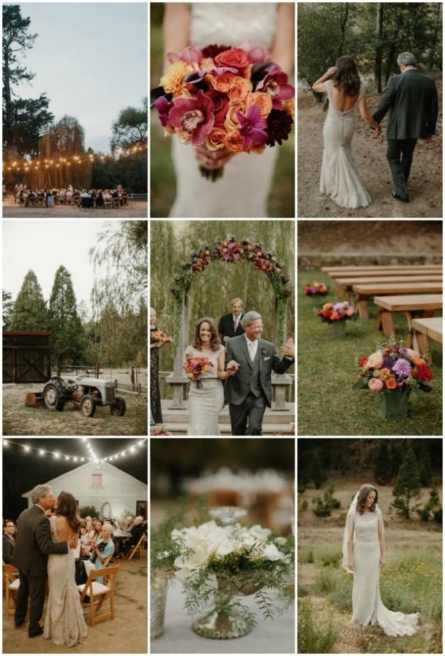 Relaxed Ranch Wedding Amid The Trees And Under The Stars - Weddbook