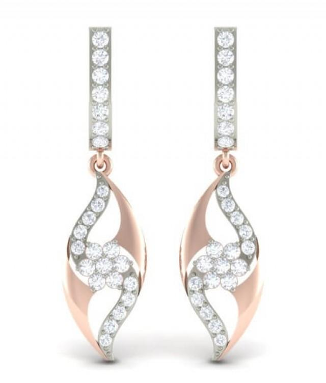 wedding photo - The Eyesore Diamond Earrings