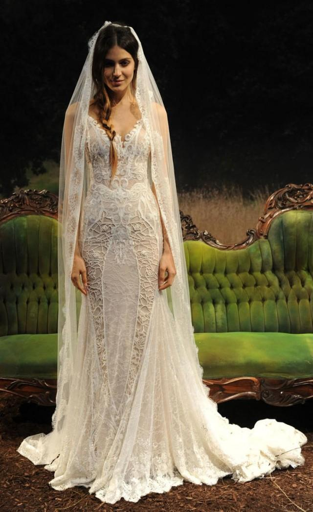 Accessories nature inspired bridal dress 2520250 weddbook for Nature themed wedding dress