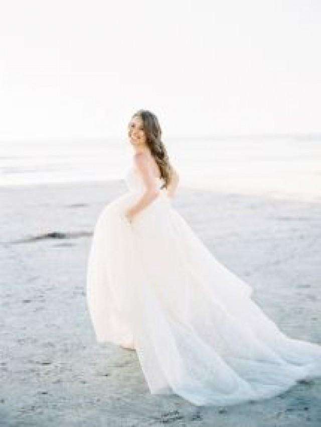 Dress Elegant San Diego Beach Wedding 2521157 Weddbook