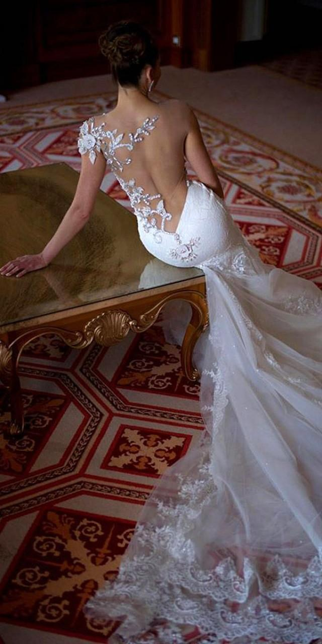 15 gorgeous tattoo effect wedding dresses 2522565 weddbook for Tattoos and wedding dresses