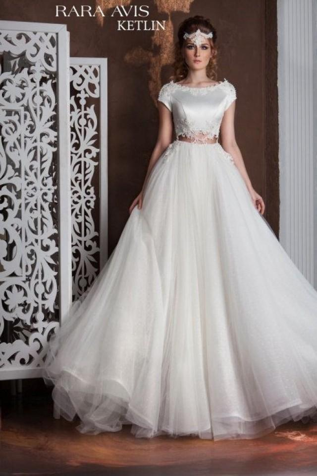 Unique wedding gown ketlin simple wedding dress bride for Wedding dresses for tall skinny brides