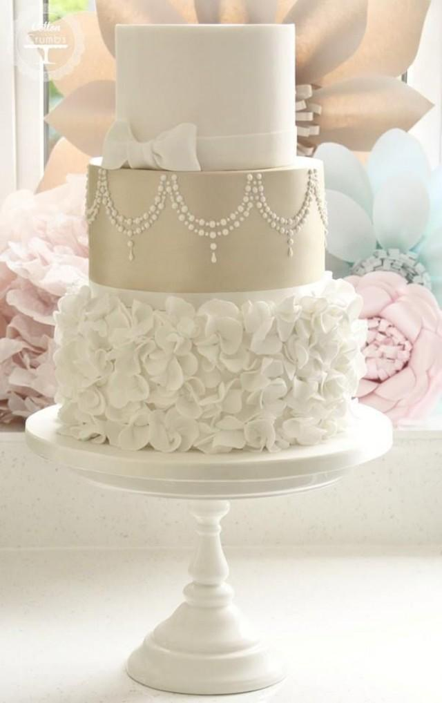 Cake - 35 Chic Classy Wedding Cake Inspiration #2524887 ...