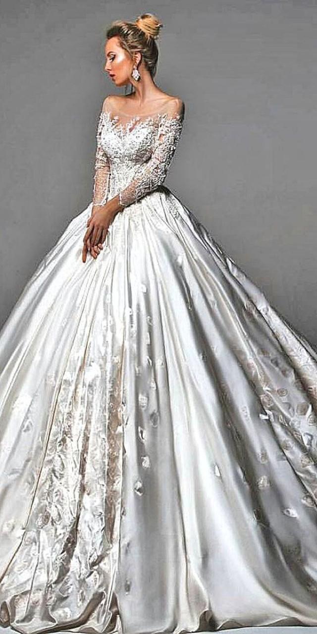 24 disney wedding dresses for fairy tale inspiration for Fairy tale wedding dresses