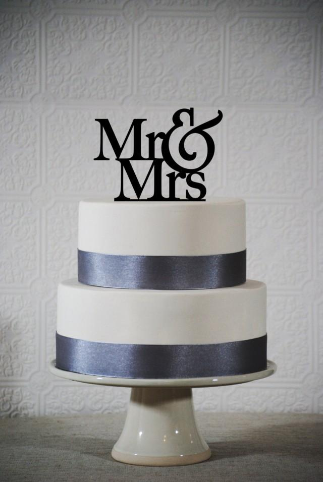 Mr And Mrs Wedding Cake Topper Classic Mr And Mrs Wedding Cake Topper Elegant Cake Topper