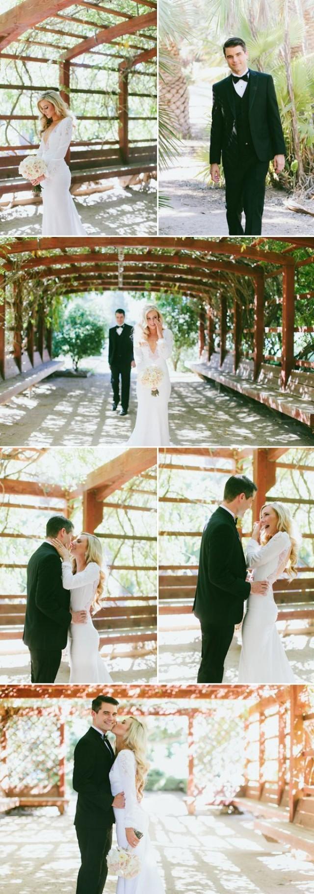 wedding photo - Dramatic And Sophisticated Bridal Style
